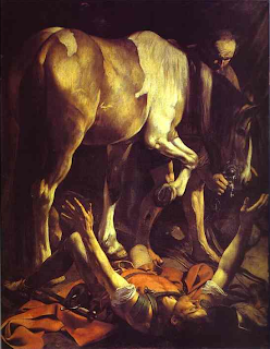"""The Conversion on the Way to Damascus"" by Caravaggio"
