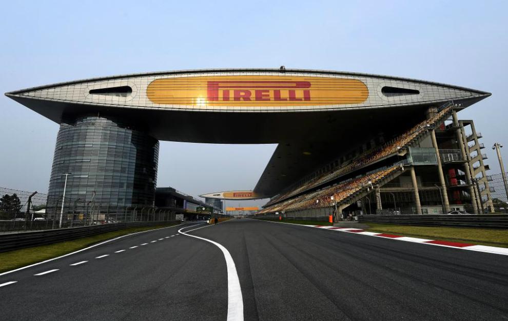 Circuito premio China Formula1