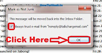 how to stop junk mail in outlook 2010