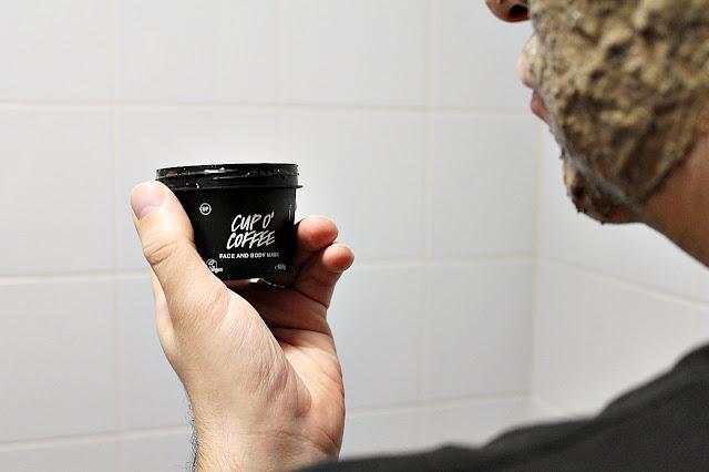 Lush Cup O'Coffee kasvonaamio