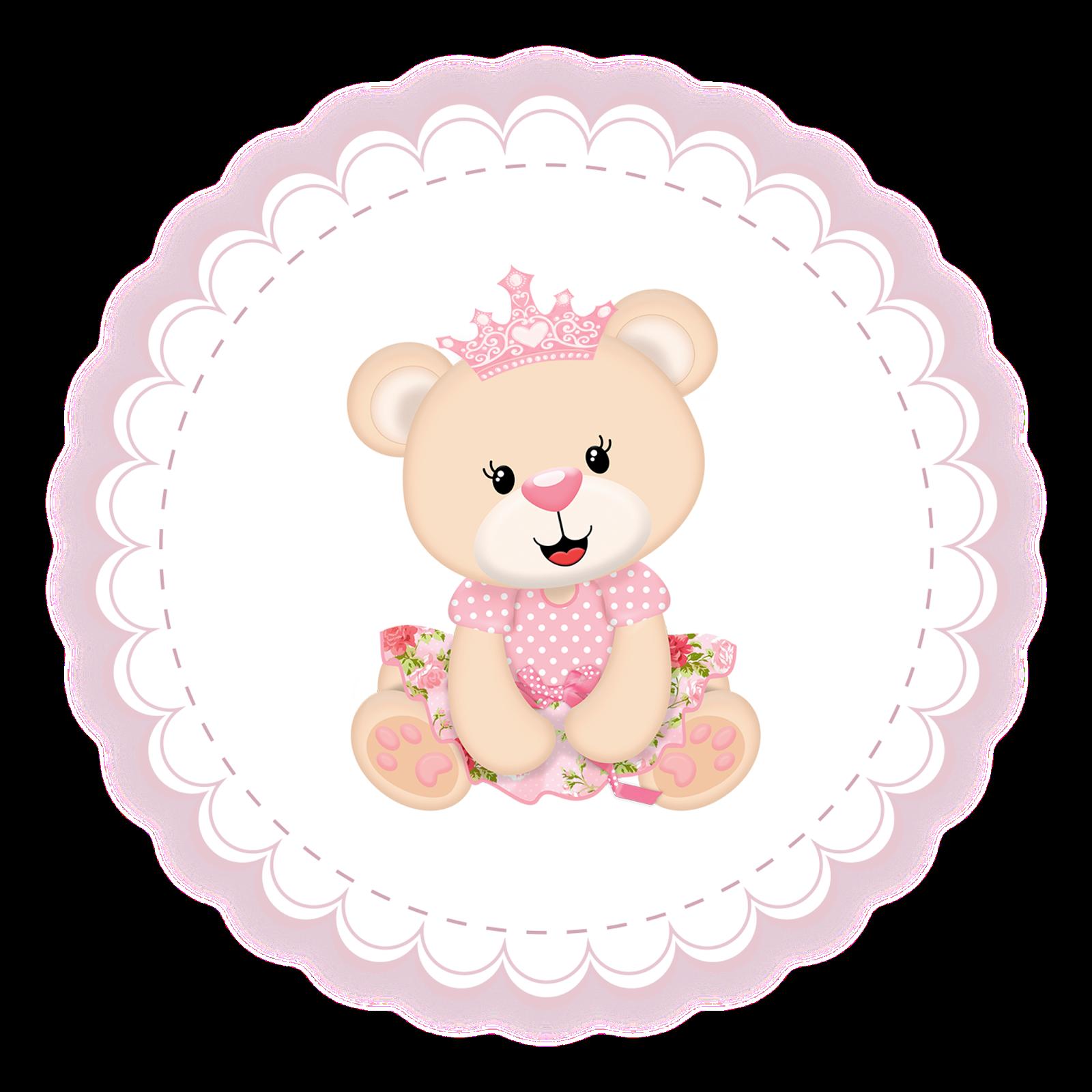Tema Ursinha Princesa Popis Digital
