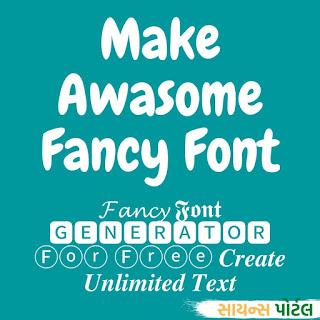Fancy Font Generator