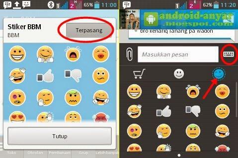 Cara Download Stiker BBM Android Gratis