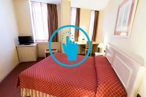 600 € - habitación doble piso de alto standing (diagonal mar)