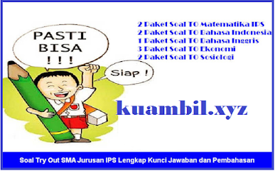 Download Soal Try Out (TO) atau Uji Coba Ujian Nasional (UN) 2018