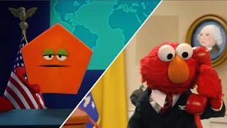 Elmo imagines he's President of the United States, Elmo the Musical President the Musical, Sesame Street Episode 4324 Trashgiving Day season 43
