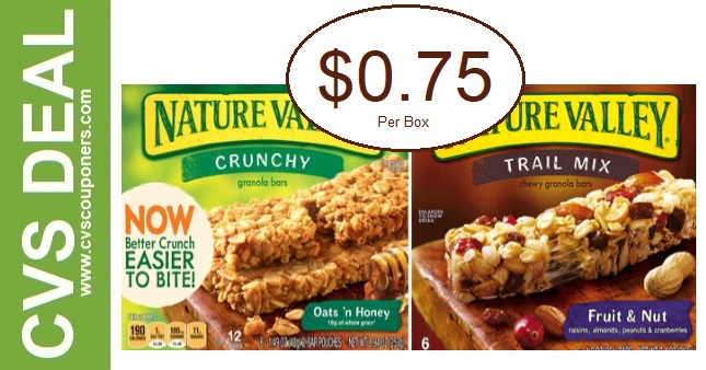 Sweet Deals on Nature Valley Bars at CVS