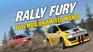 Download Rally Fury v 1.59 MOD APK Unlimited Money Terbaru