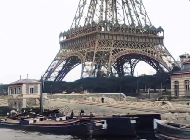 Eiffel Tower in Paris 1890s randommusings.filminspector.com