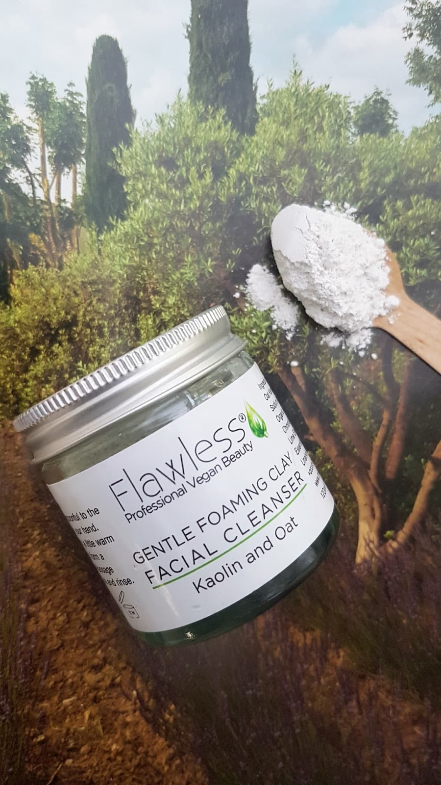 The Natural Beauty Box Review - Flawless Gentle Foaming Clay Face Cleanser
