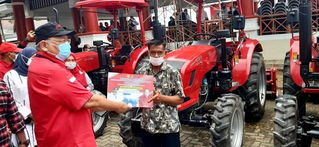 Lampung Selatan Kembali Peroleh Bantuan Alsintan, Nanang Harap Ketahanan Pangan Di Lampung Selatan Semakin Kuat