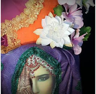 Mariée, Fleurs et Saris - Sabine Dessarps