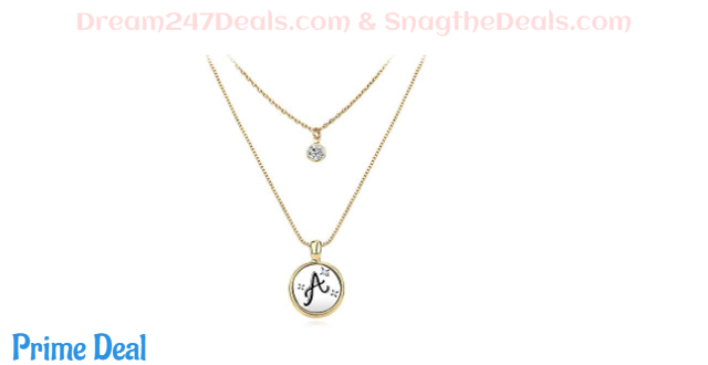 LILIE&WHITE Initial Necklaces 40%OFF