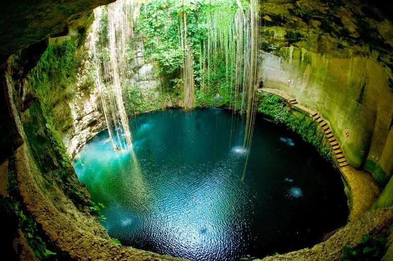 Underground natural springs in Mexico - 15 Things You Won't Believe Actually Exist In Nature