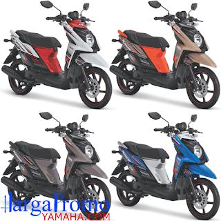 Kredit Motor Yamaha X Ride Terbaru