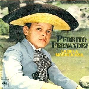Foto de Pedro Fernández en sus inicios
