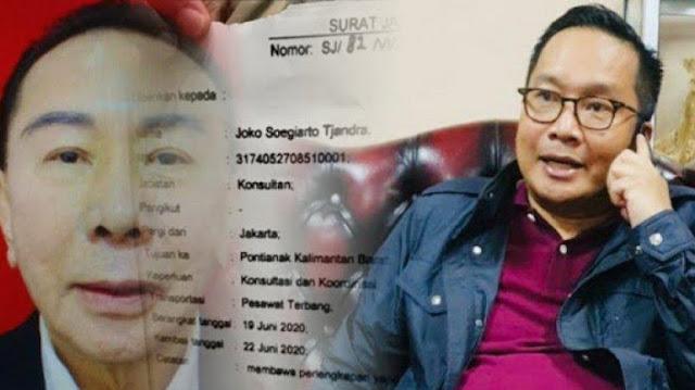 Djoko Tjandra Tertulis Konsultan Bareskrim di Surat Jalan, Polri: Itu Palsu!