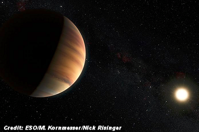 Detection of Light Bouncing Off An Exoplanet—A First