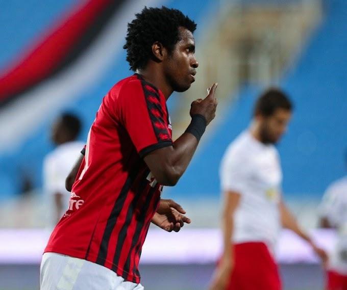 ¡Volvió con gol! Marco Pérez, ex DEPORTES TOLIMA, anotó en victoria de su equipo en el fútbol de Arabia