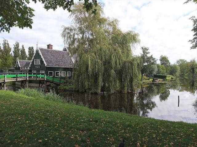 casa tipica villaggio zaanse schans