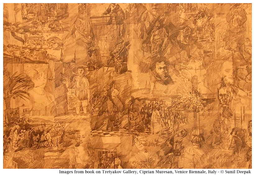 Art of Ciprian Muresan at Venice Biennale, Italy - Images by Sunil Deepak