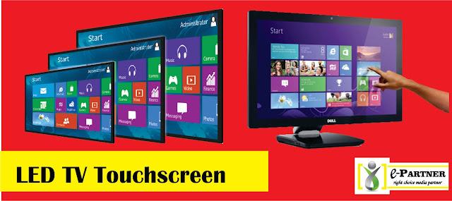 sewa led tv touchscreen 50 inch siap antar