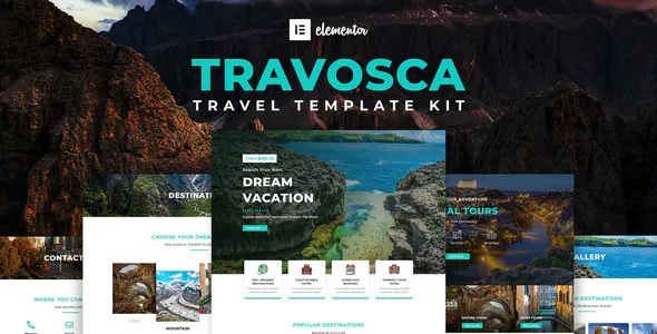 Travel WordPress Elementor Template Kit