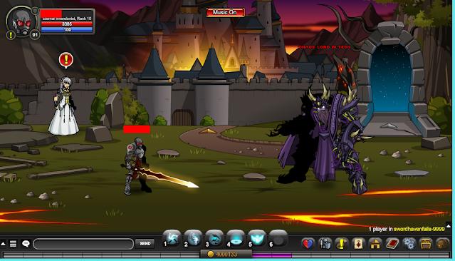 Chaos Lord Alteon AQW Coordinates