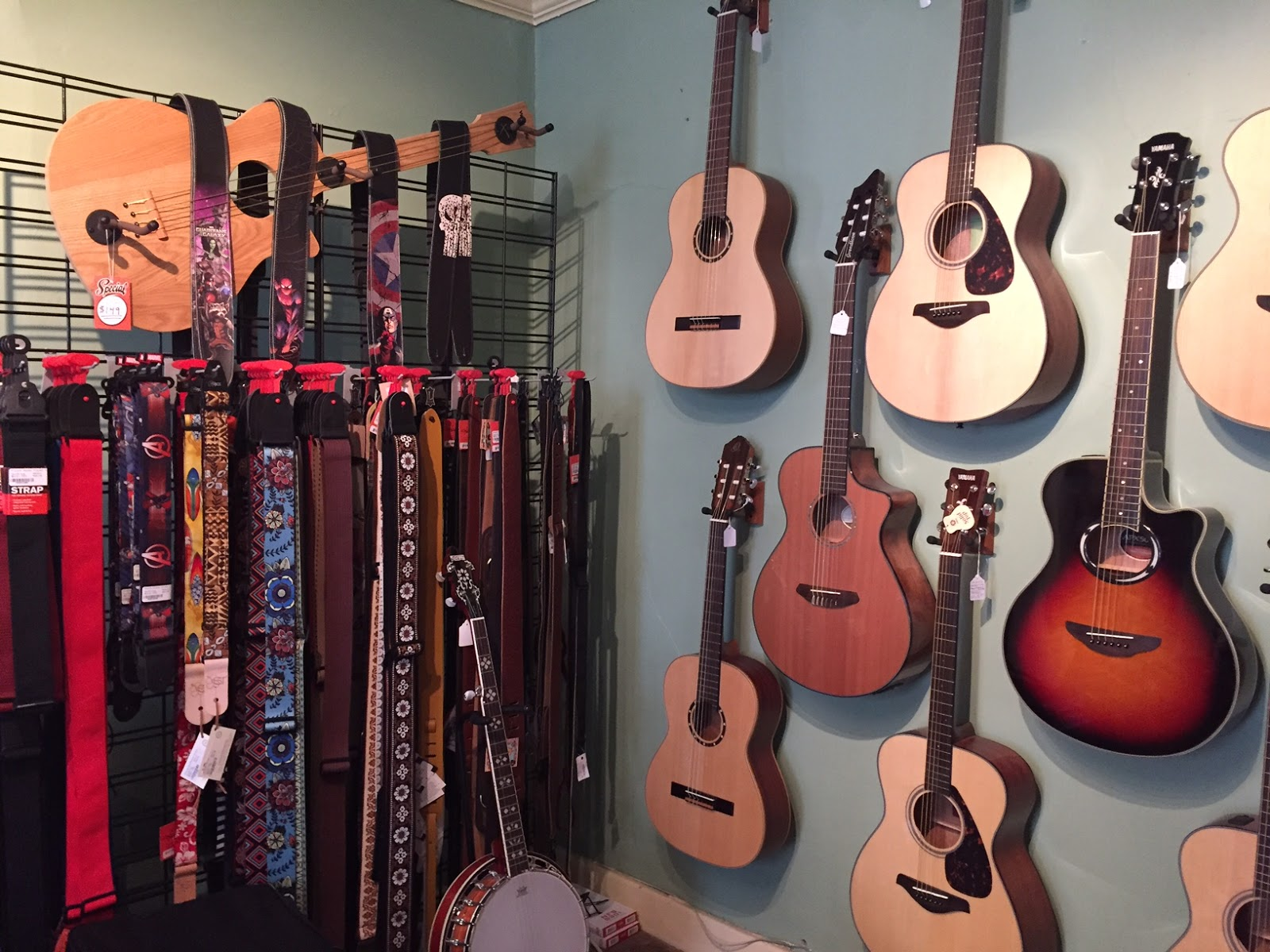 Wall Axe Custom Guitar Hangers April 2016