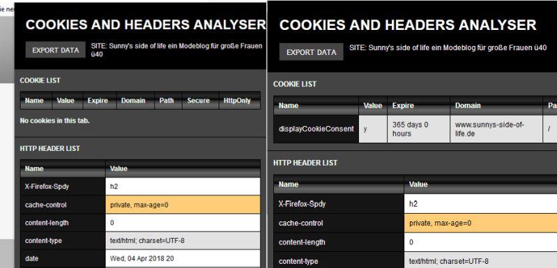 Screenshot-Cookie-Analysetool-vor-und-nach-bestätigung