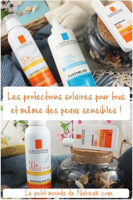 Les protections solaires des peaux sensibles