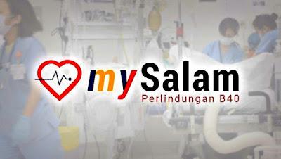 Pendaftaran MySalam 2020 Skim Perlindungan Nasional B40