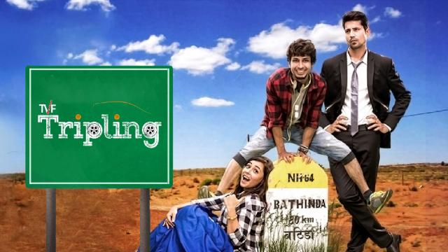 TVF Tripling Hindi web series