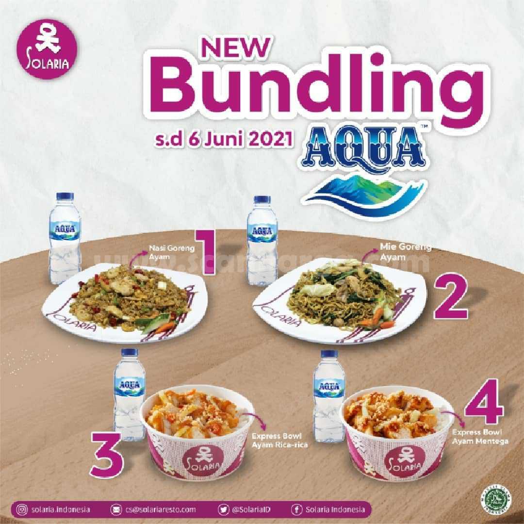 Promo Solaria New Bundling Aqua Package