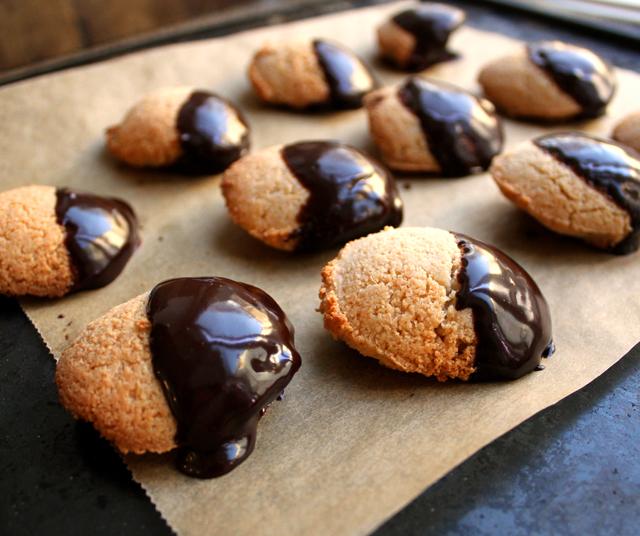 Oppskrift Veganske Kokosmakroner Sjokoladetrekk Eggfri Glutenfri Melkefri