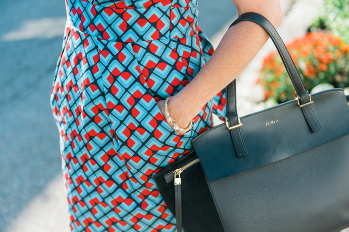 Closet London geometric dress