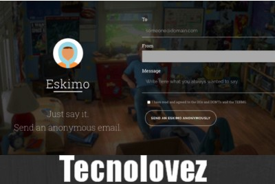 Eskiimo - Applicazione web che consente di inviare email anonime