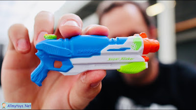 World smallest Nerf Super Soaker 2