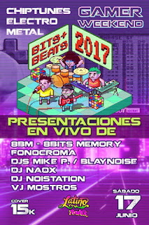 GAMER WEEKEND EN LATINO POWER BEATS + BITS 2017