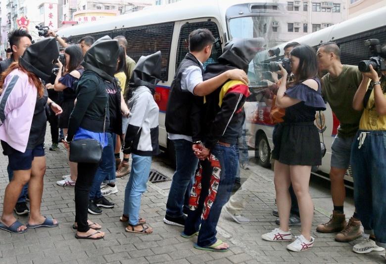Gerebek Gudang Narkoba,Regu Kejahatan Hong Kong Tangkap 10 Warga Thailand