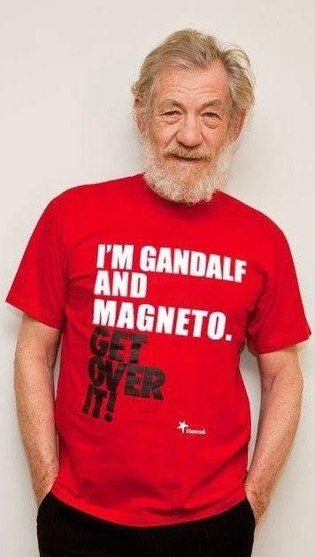 Harrison Ford Responds To T-Shirt Ian Mckellen | Brains Sparks