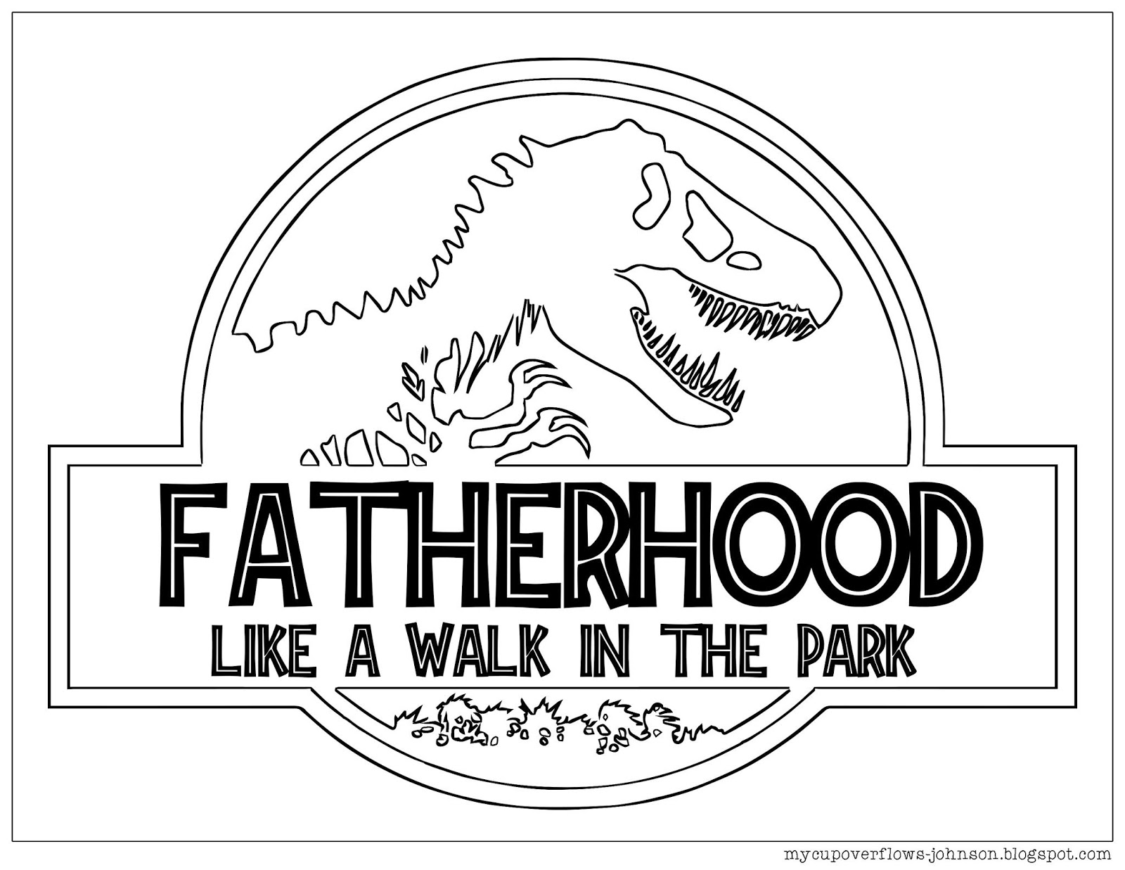 My Cup Overflows Father S Day Coloring Pages