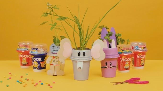 Vigor lança websérie de atividades 'faça você mesmo' para pais, mães e crianças