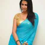 Telugu Actress Gayathri Iyer Saree Stills