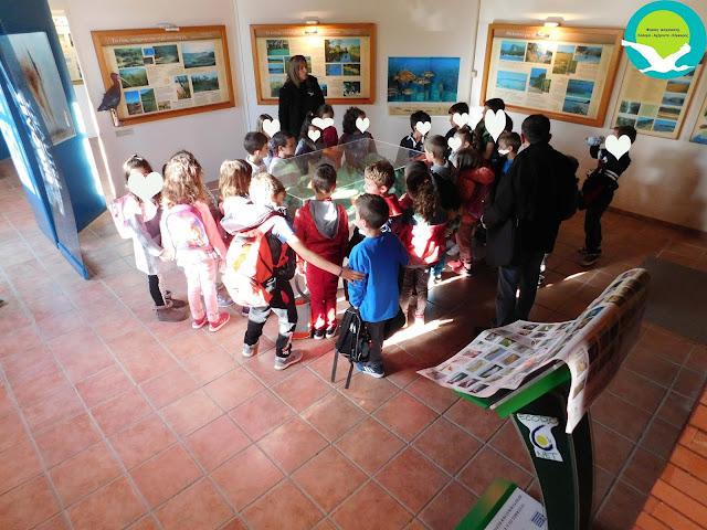 Επίσκεψη μαθητών από το Δημοτικό σχολείο Γραμμενίτσας στο Κέντρο Πληροφόρησης Αχέροντα