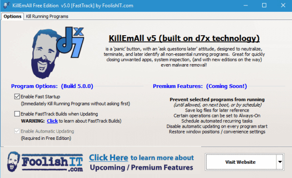 برنامج KillEmAll