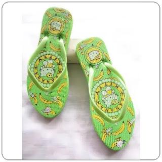 Sandal Spon Cewe BGR