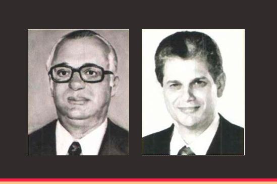Ex-prefeitos João Paulino e Silvio Barros. Café com Jornalista