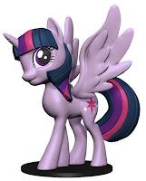 My Little Pony WizKids Deep Cut Miniature Twilight Sparkle