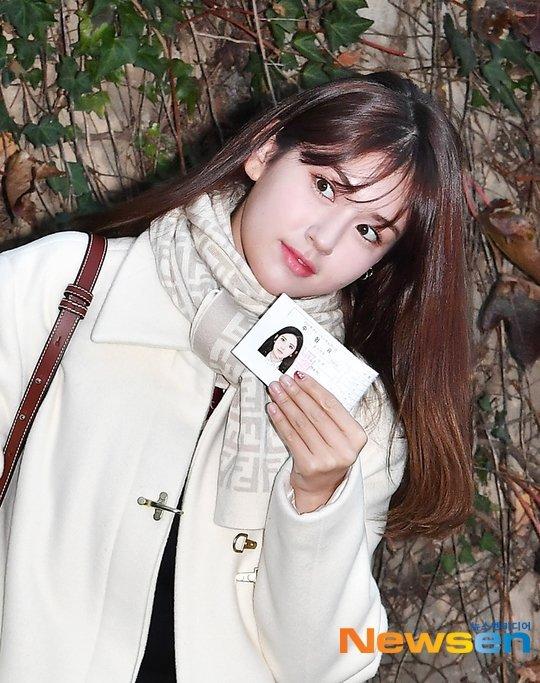 Jun Somi üniversite sınavına girmeden önce heyecanını paylaştı